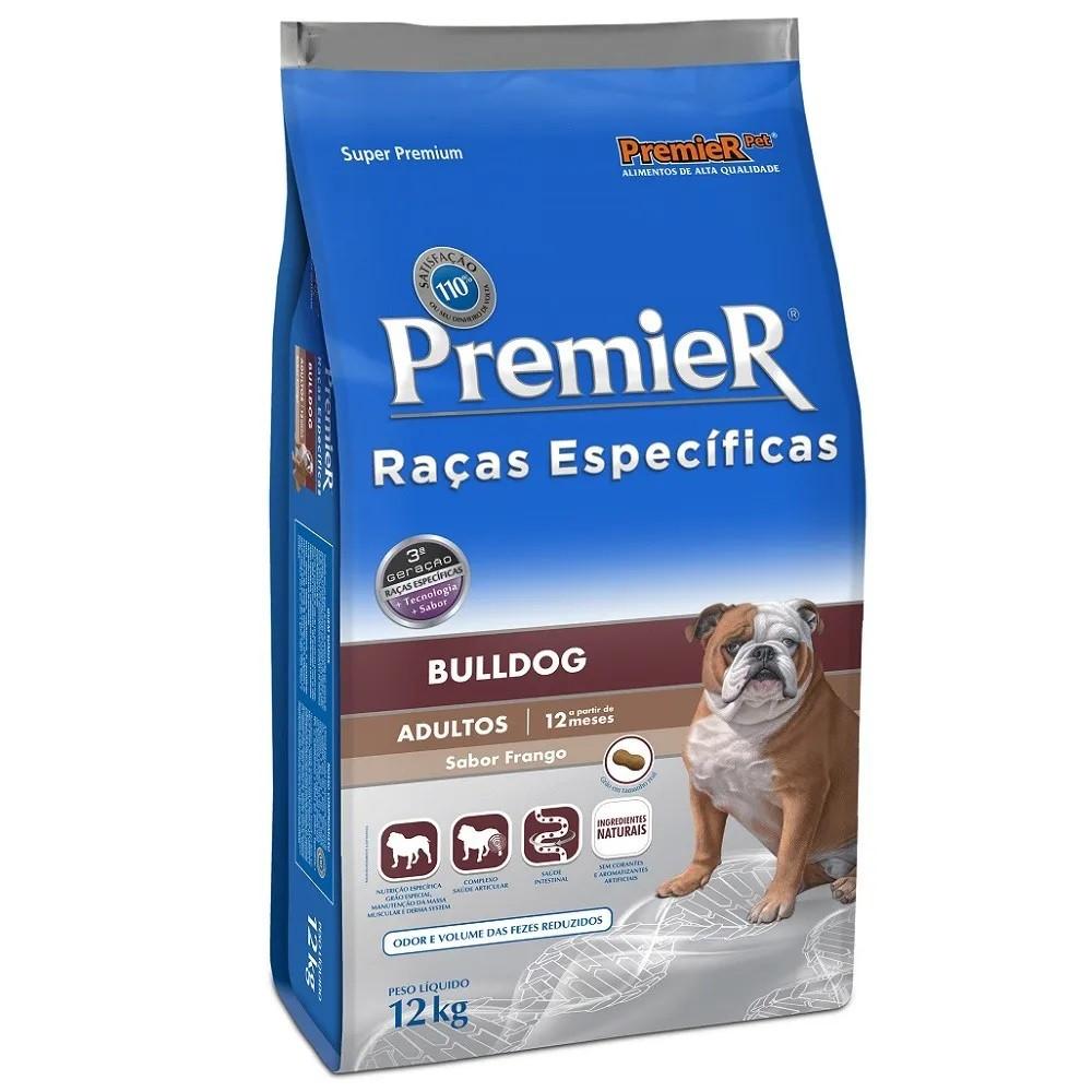 Premier Raças Específicas Bulldog Adultos