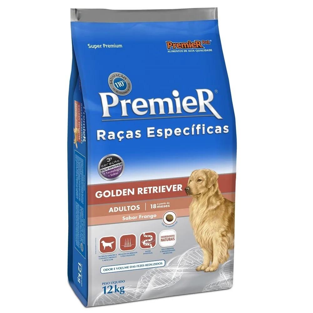 Premier Raças Específicas Golden Retriever Adultos