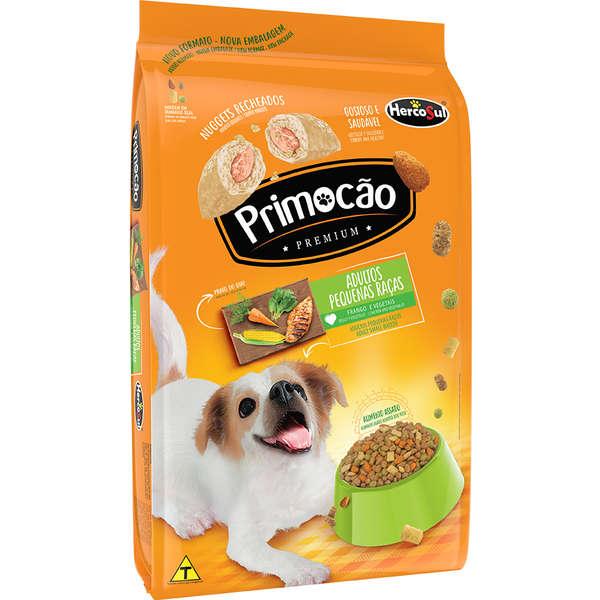Primocão Cão Adulto Raças Pequenas Frango e Vegetais