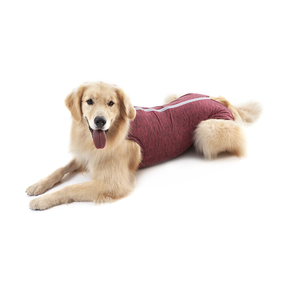 Roupa Cirúrgica Pet Med Duo Dry Regular Rosa para Cães