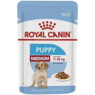 Royal Canin Sachê Cães Filhotes Raças Médias