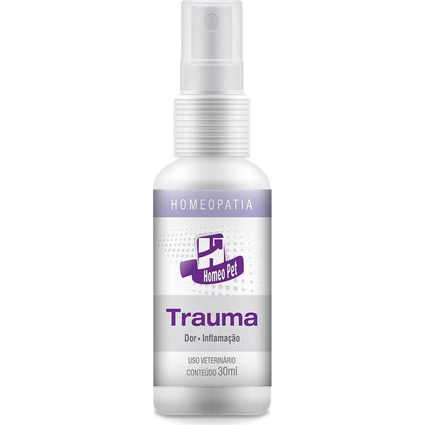 Sistema de Terapia Real H Homeo Pet Trauma 30 ml