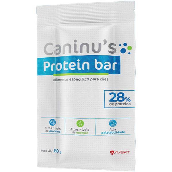 Suplemento Caninus Protein Bar para Cães 80g