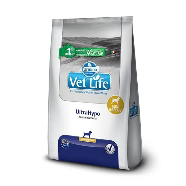 Vet Life Canine UltraHypo Raças Pequenas
