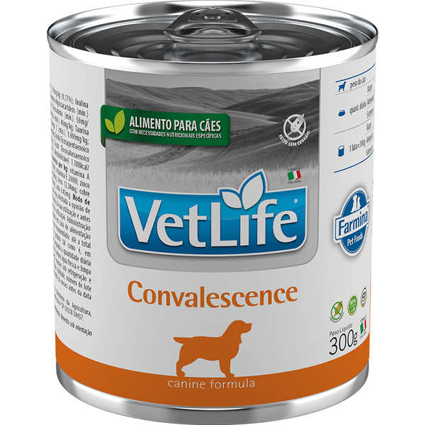 Vet Life Lata Cão Convalecence