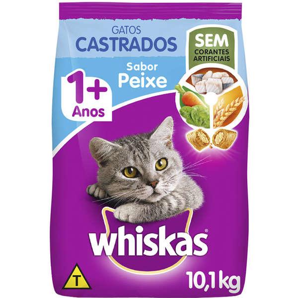 Whiskas Adulto Gatos Castrados Peixe