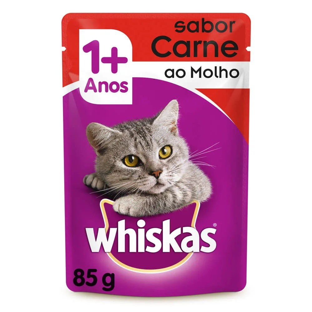 Whiskas Sachê Carne