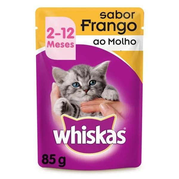Whiskas Sachê Filhote Frango