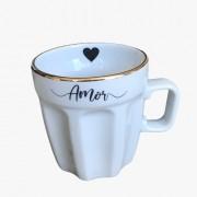 Caneca Café + Amor