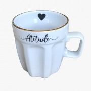 Caneca Café + Atitude