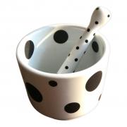 Pilão em porcelana