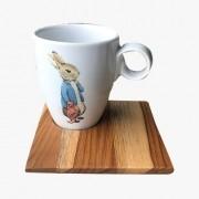 Xícara de chá Peter Habbit 3