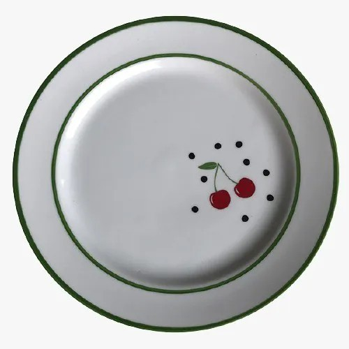 Prato de sobremesa As Cerejas