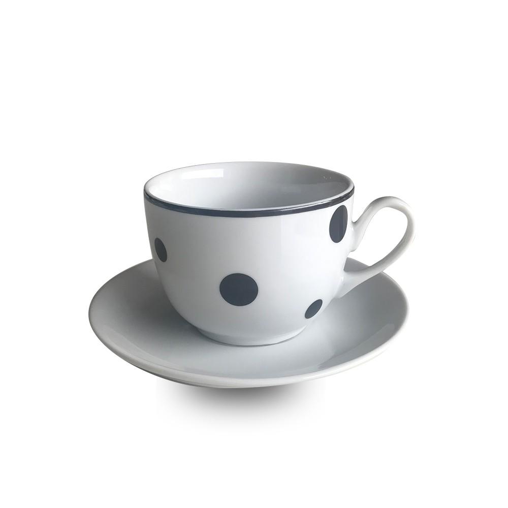 Xícara de chá confete