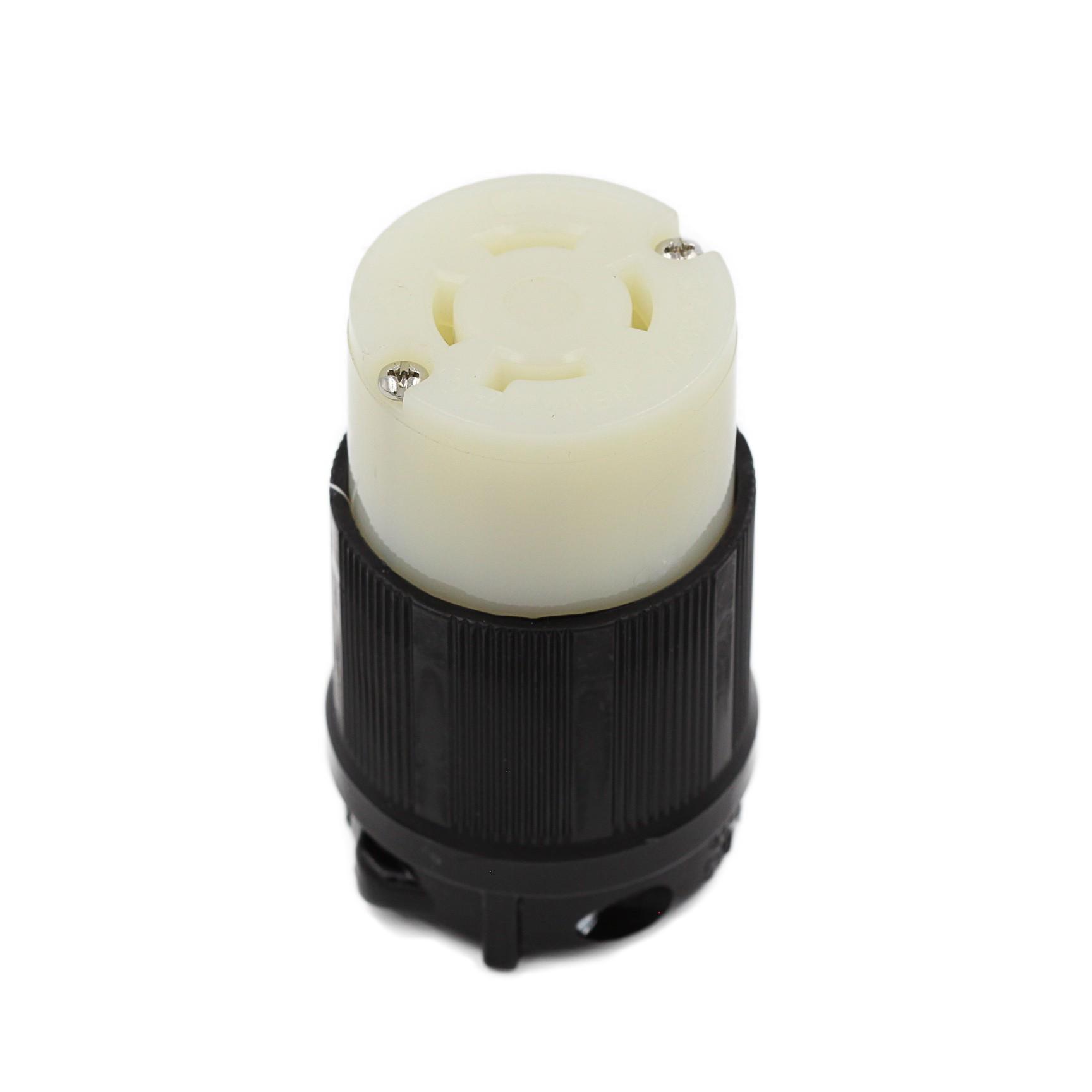 Conector Nema L17-30C - 30A - 600V 3P+T