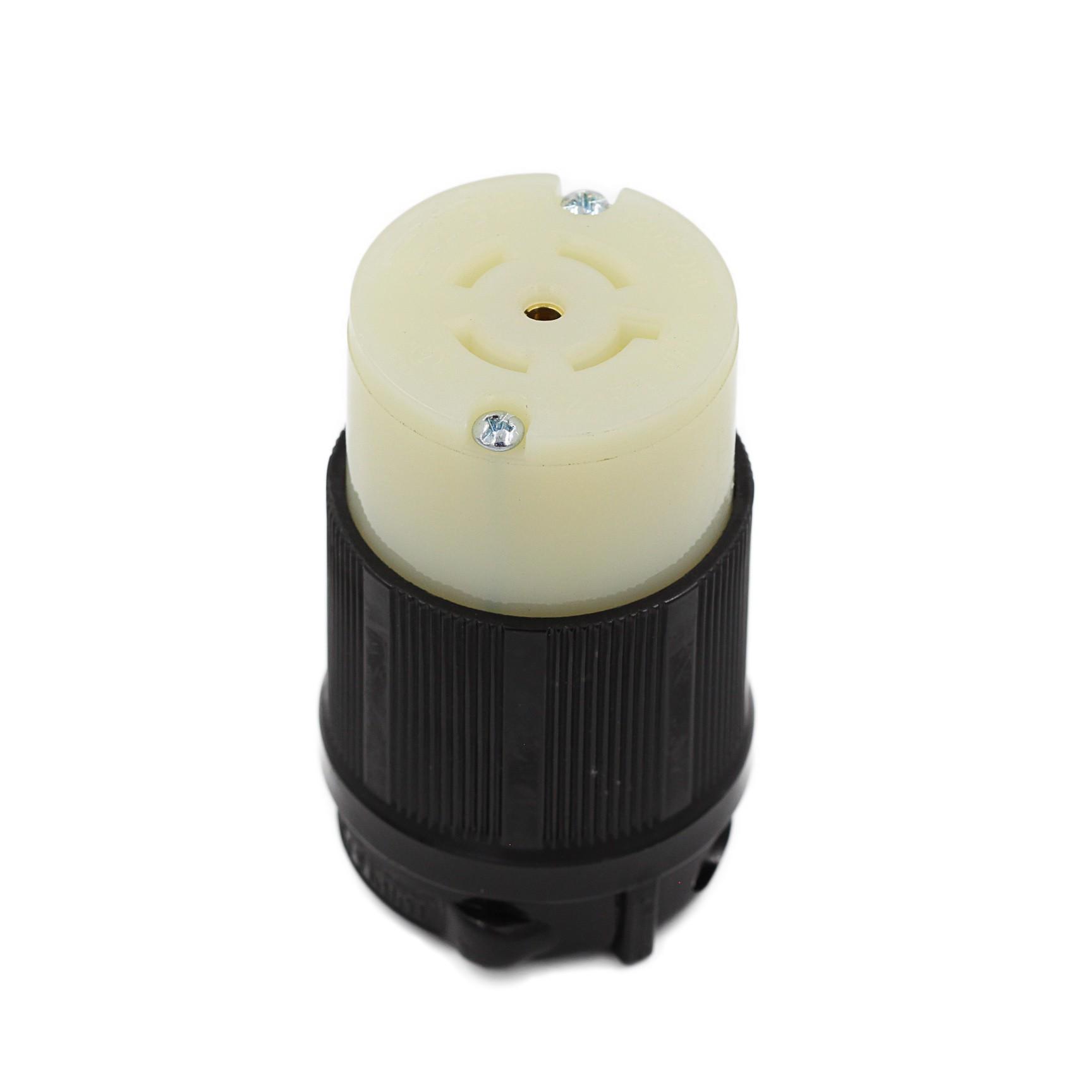 Conector Nema L21-20C - 20A - 120/208V 4P+T