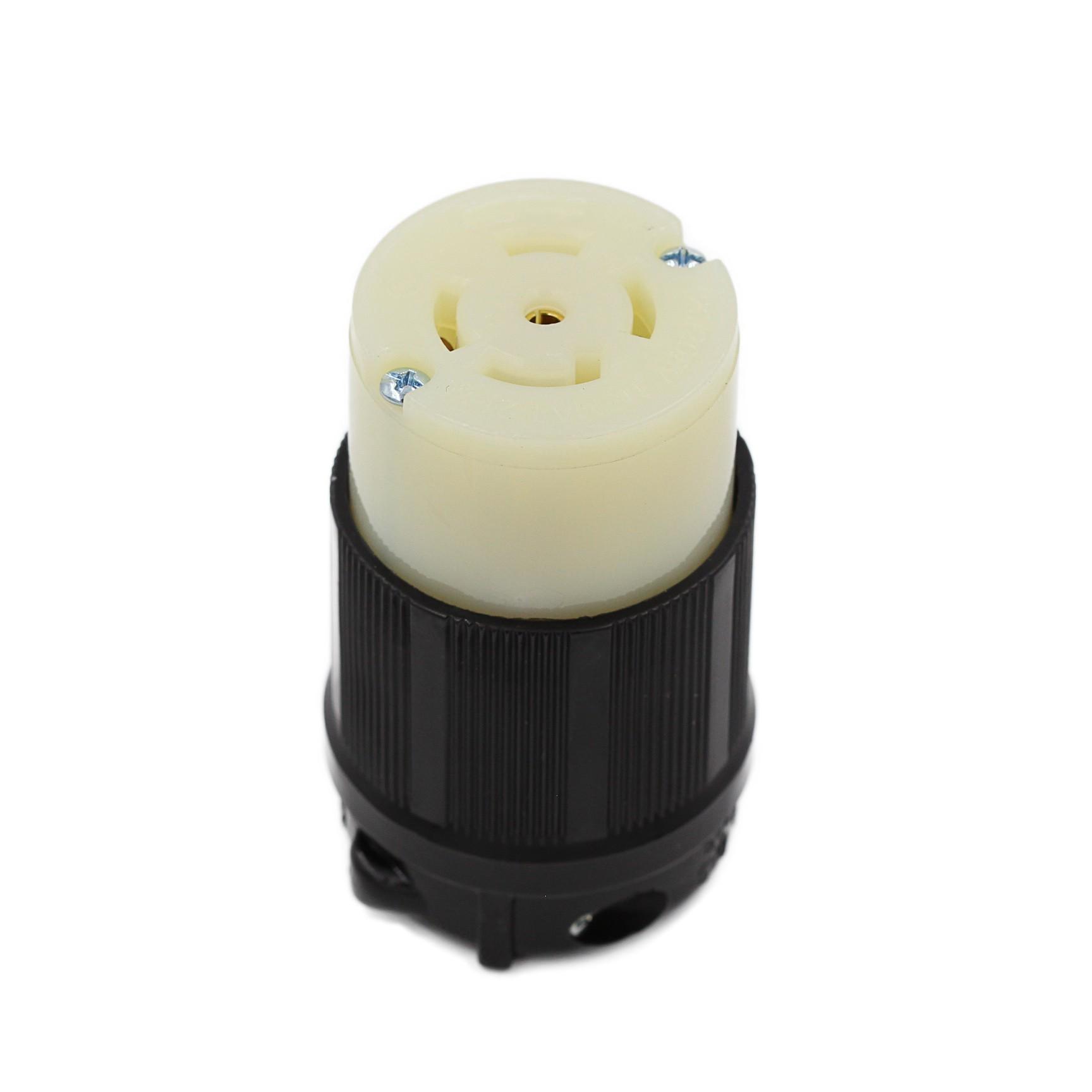 Conector Nema L21-30C - 30A - 120/208V 4P+T
