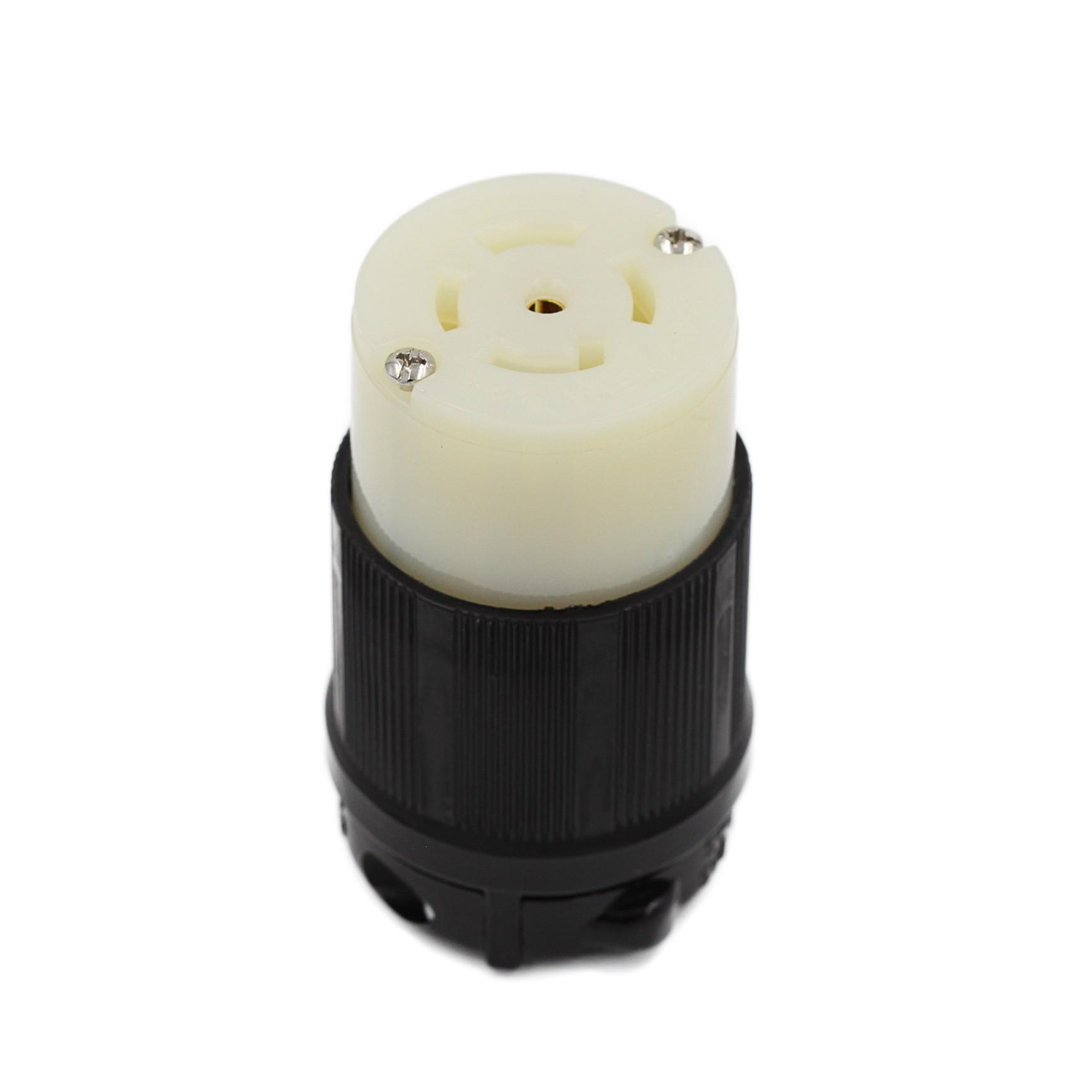 Conector Nema L22-30C - 30A - 277/480V 4P+T