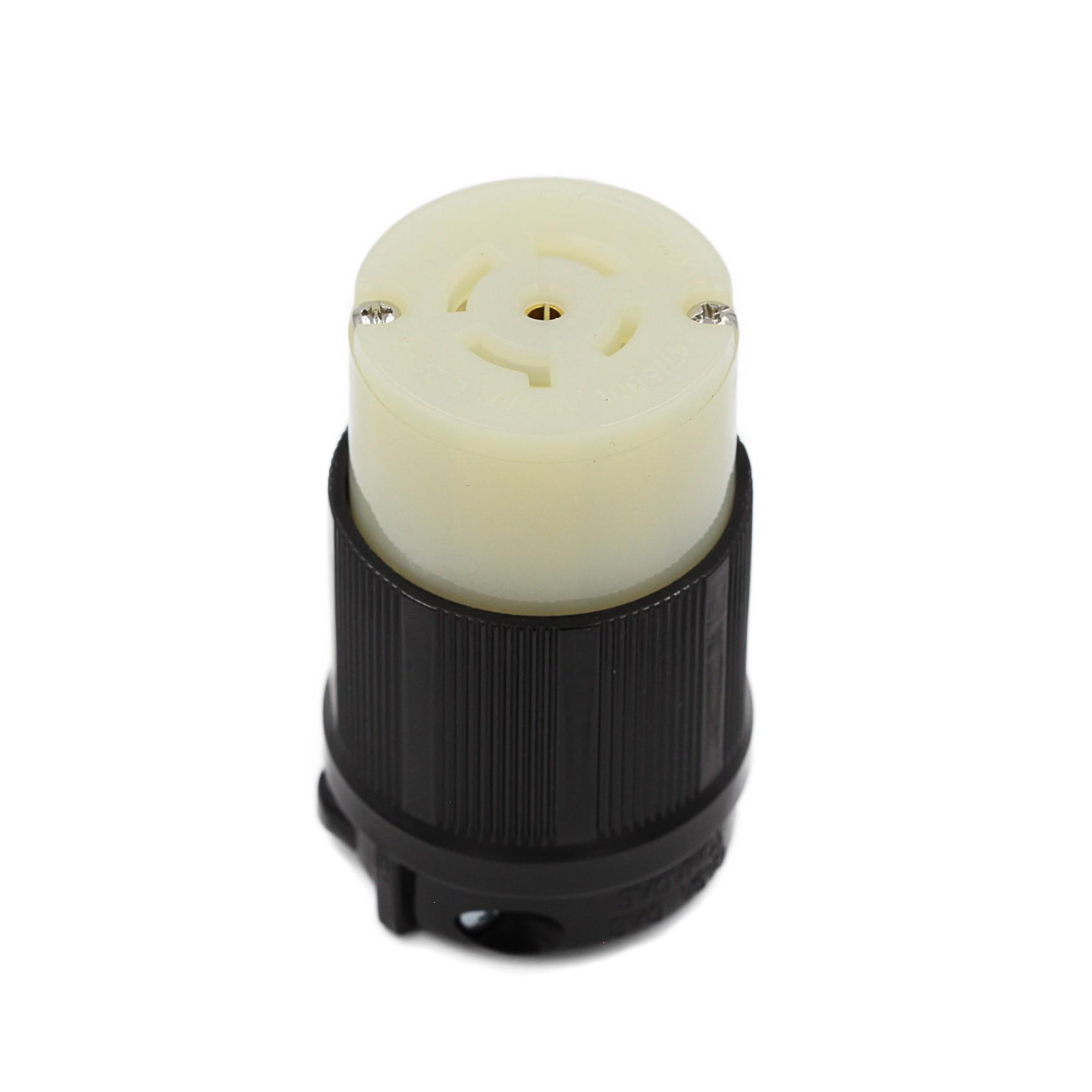 Conector Nema L23-20C - 20A - 347/600V 4P+T