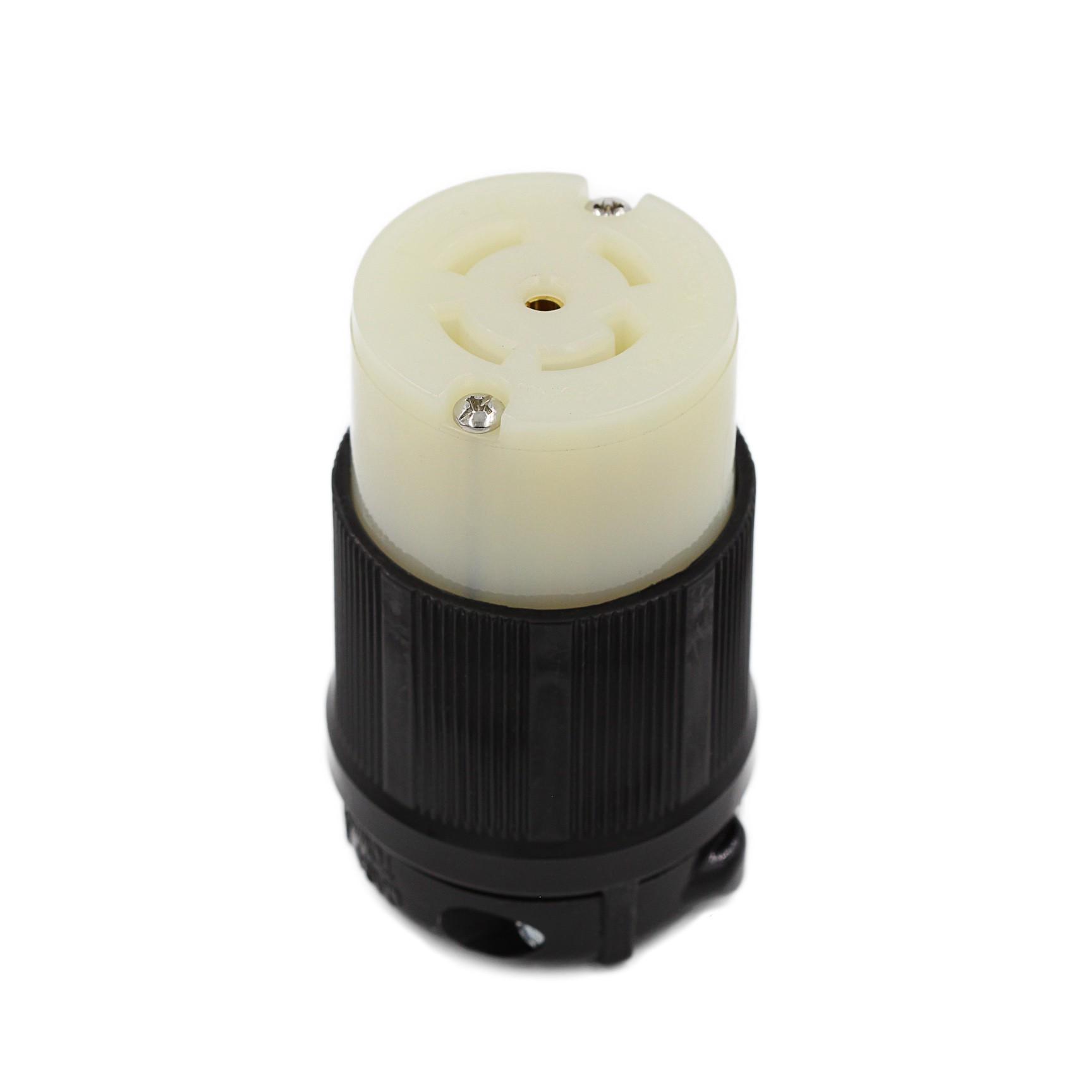 Conector Nema L23-30C - 30A - 347/600V 4P+T