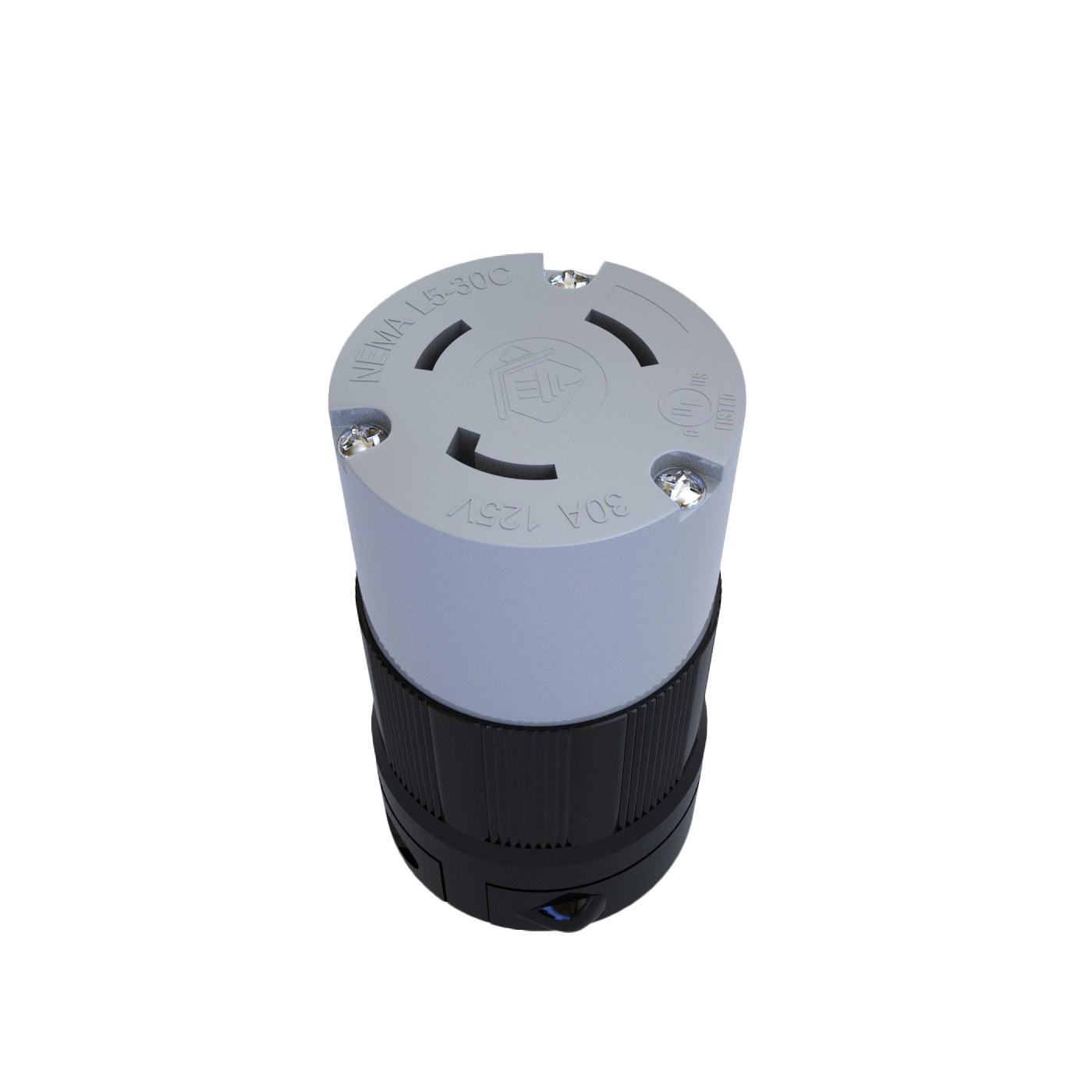 Conector Nema L5-30C - 30A - 125V 2P+T