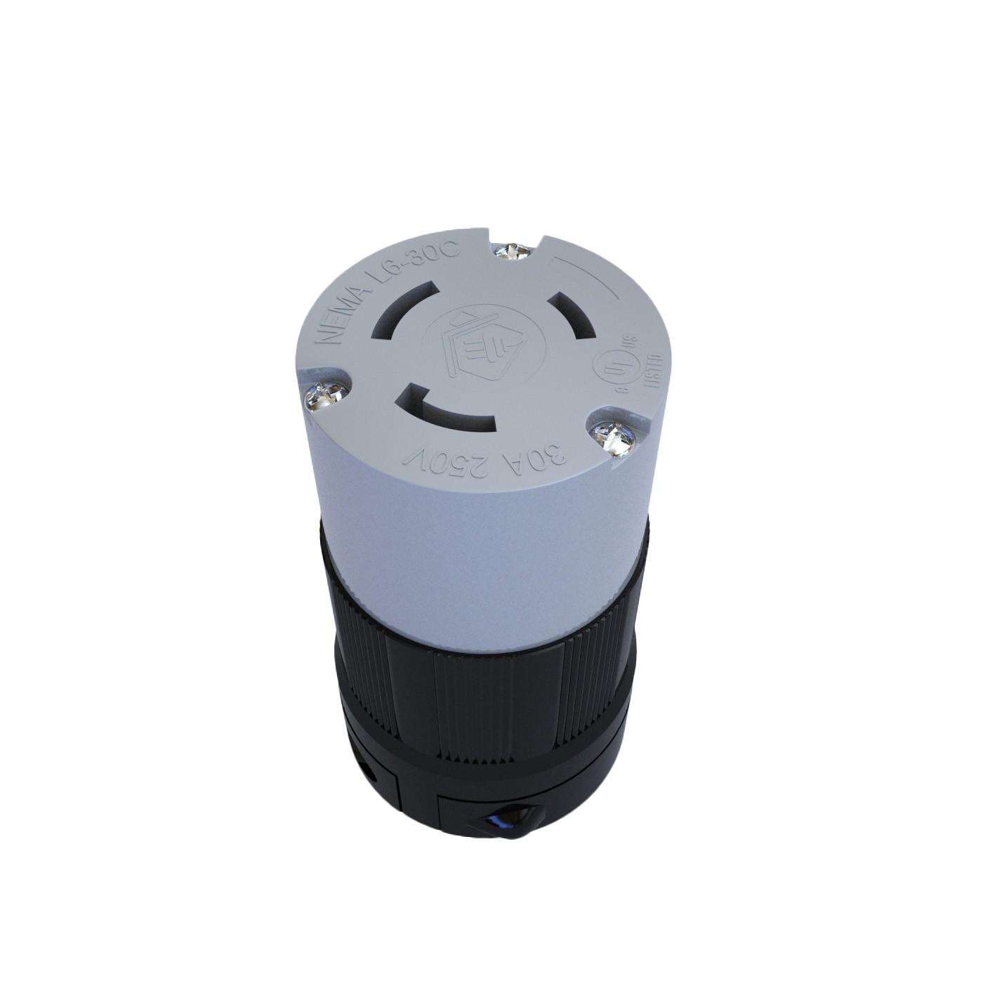 Conector Nema L6-30C - 30A - 250V 2P+T