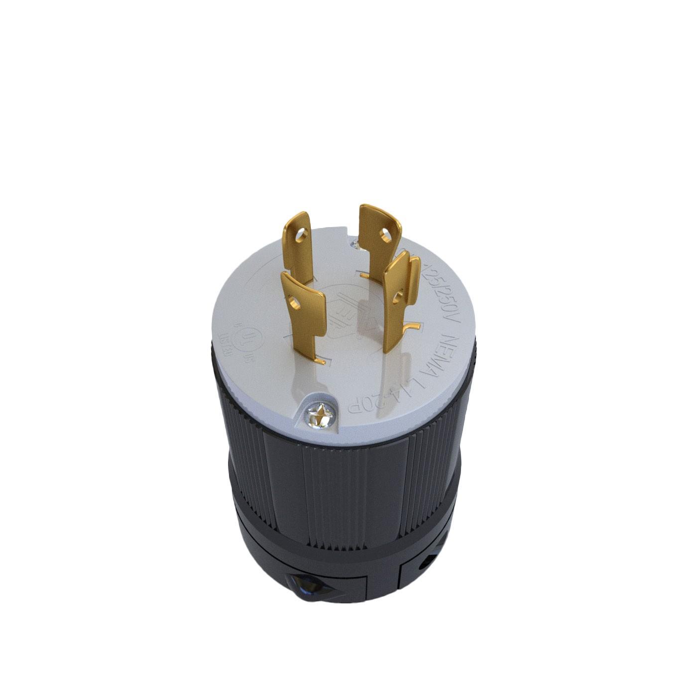 Plugue Nema L14-20P - 20A - 125/250V 3P+T