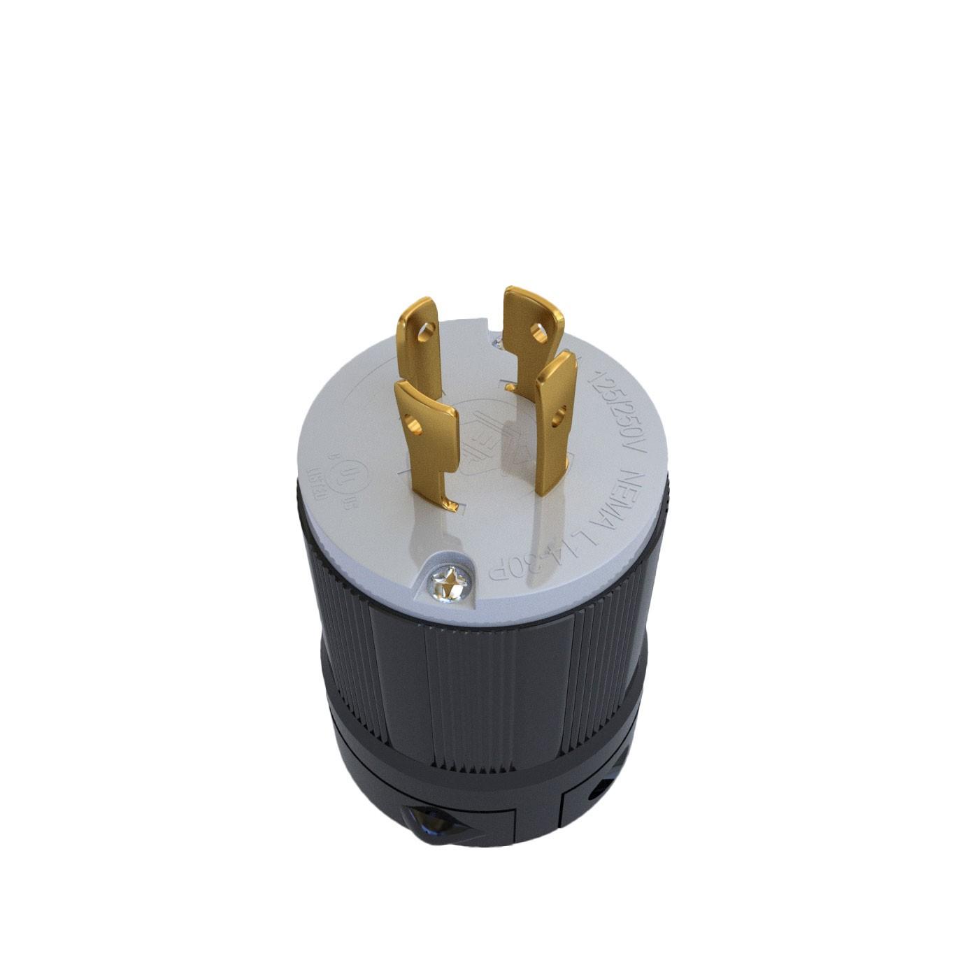 Plugue Nema L14-30P - 30A - 125/250V 3P+T
