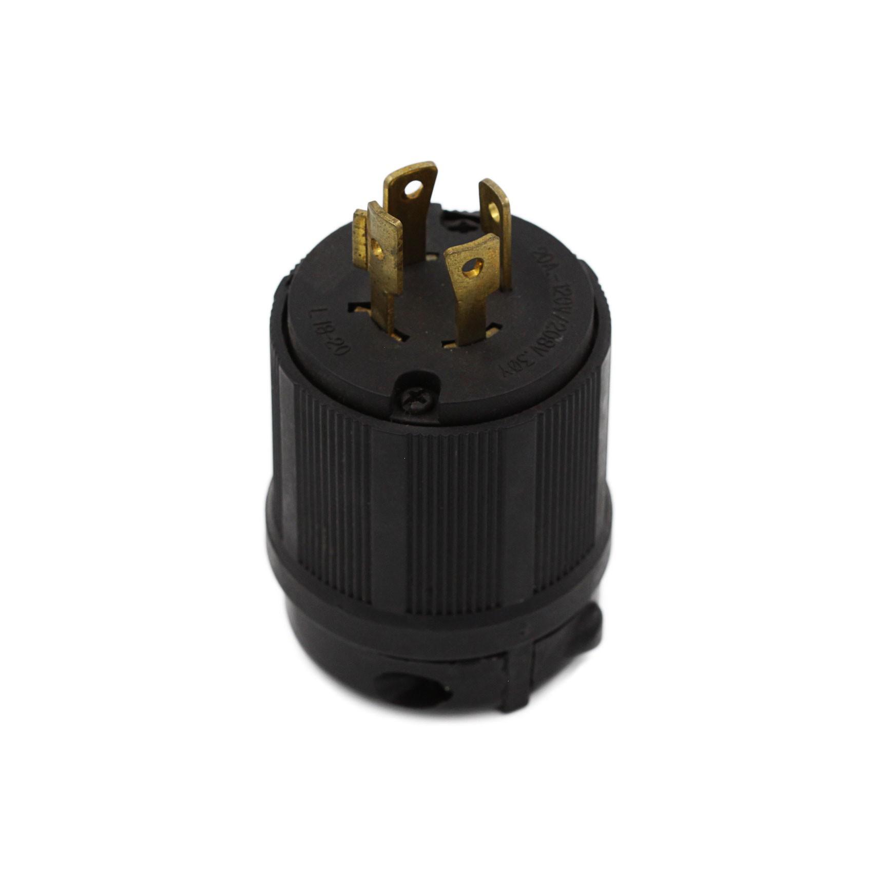 Plugue Nema L18-20P - 20A - 120/208V 3P+T