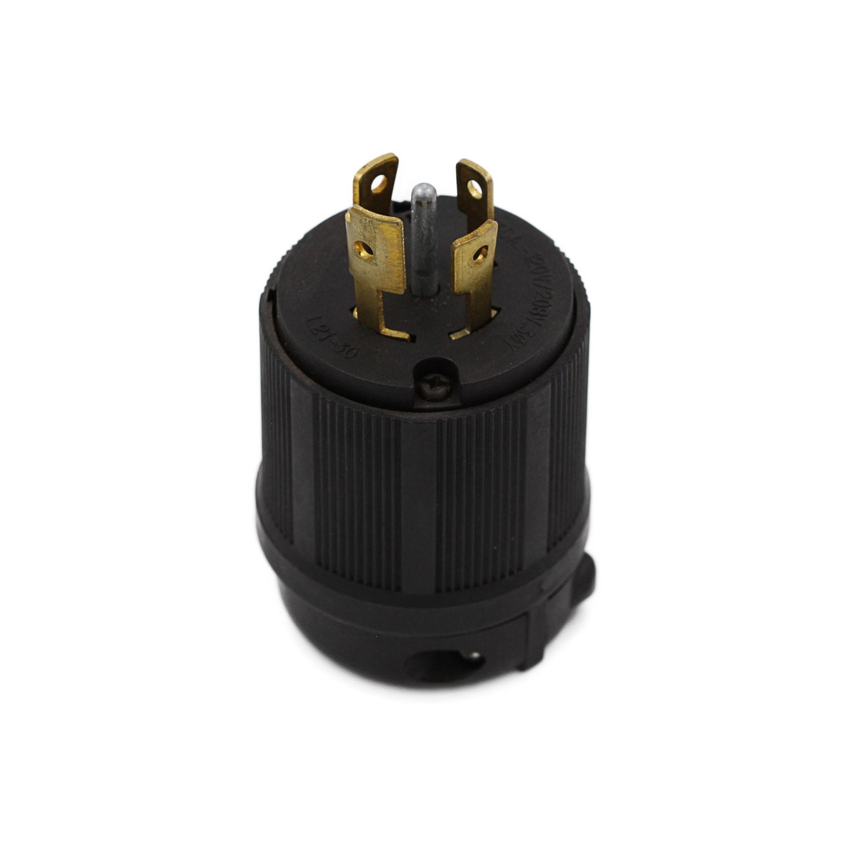Plugue Nema L21-30P - 30A - 120/208V 4P+T