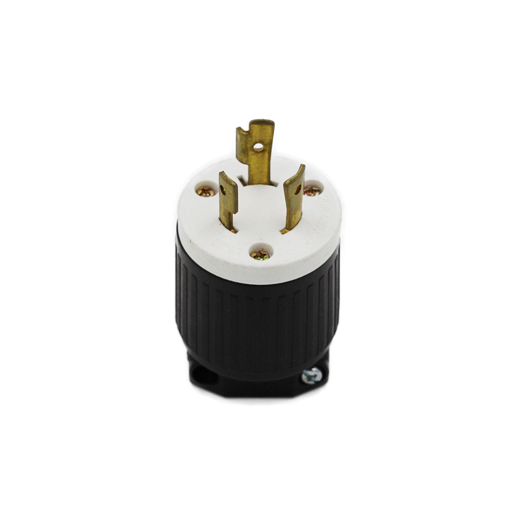 Plugue Nema L8-20P - 20A - 480V 2P+T