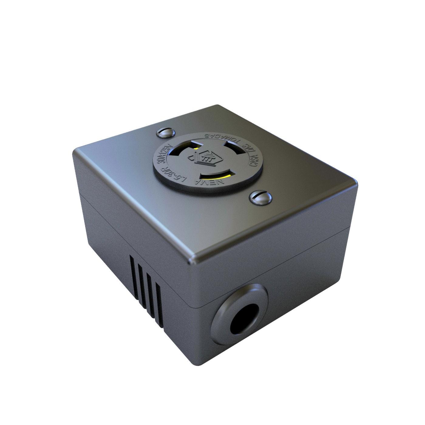 Tomada Nema L5-30R Isolada - 30A - 125V 2P+T