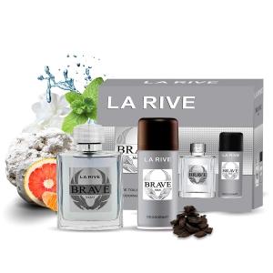 Kit Perfume Brave M 100ml + Desodorante 150ml La Rive