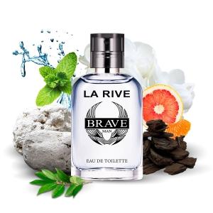 Perfume Brave edt Masculino 30ml La Rive
