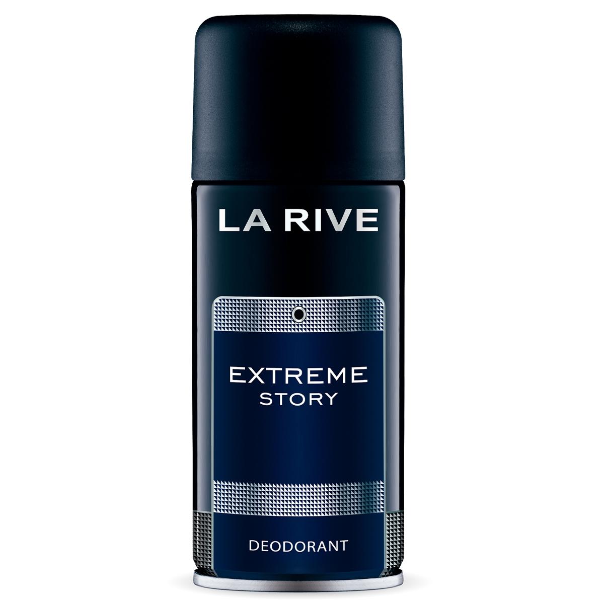 Desodorante Aerossol Extreme Story Masculino 150ml La Rive