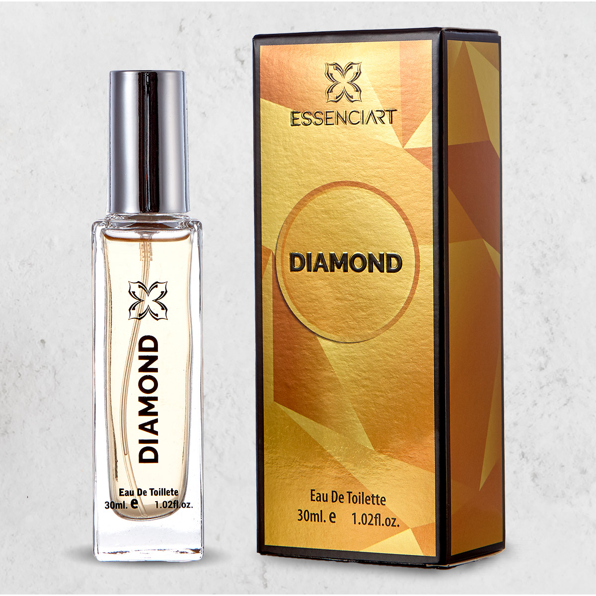 Essenciart Diamond Perfume Masculino Importado Edt 30ml