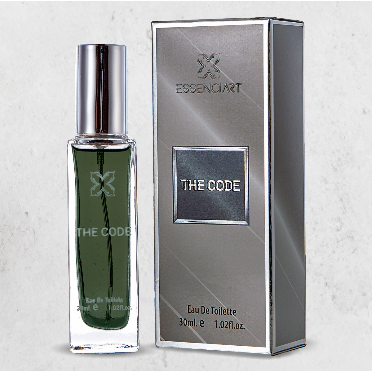 Essenciart The Code Perfume Masculino Importado Edt 30ml