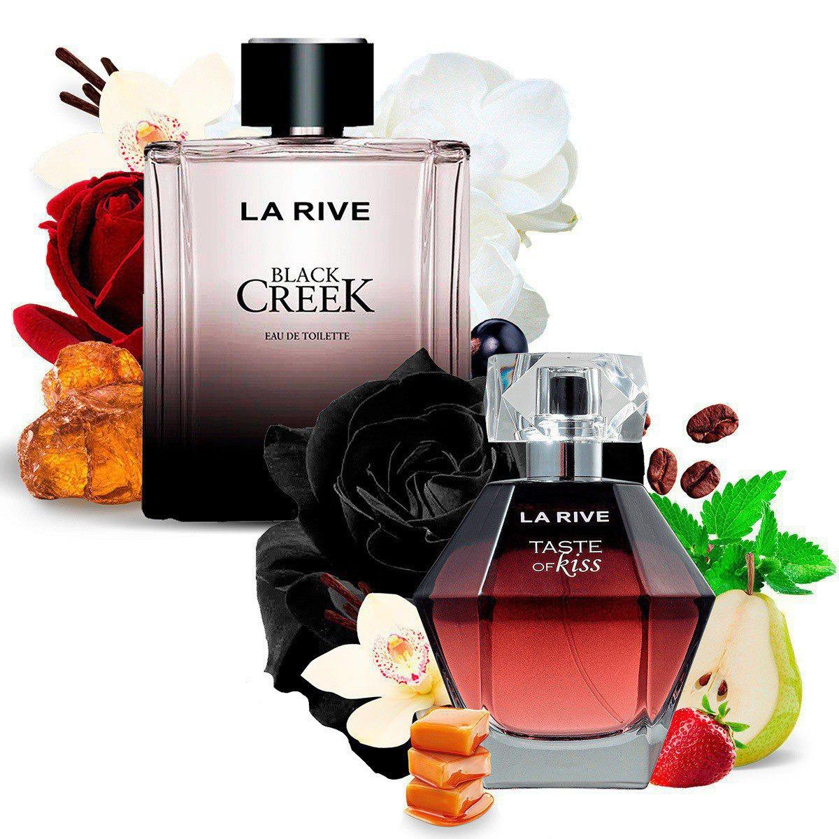 Kit 2 Perfumes, Black Creek e Taste of Kiss La Rive