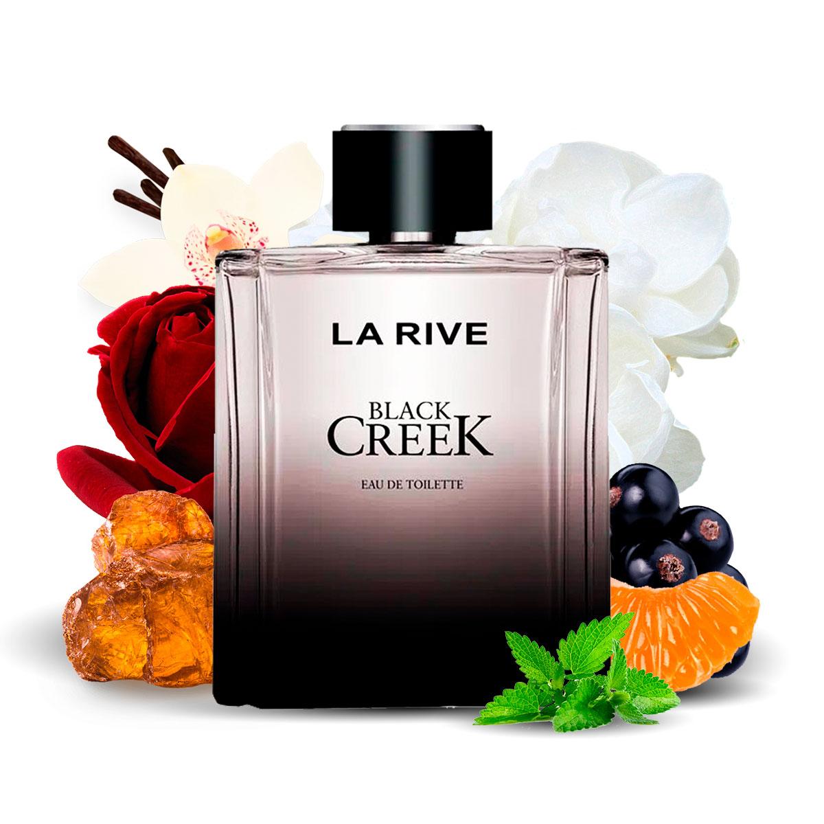Kit 2 Perfumes, Black Creek e Touch of Woman La Rive