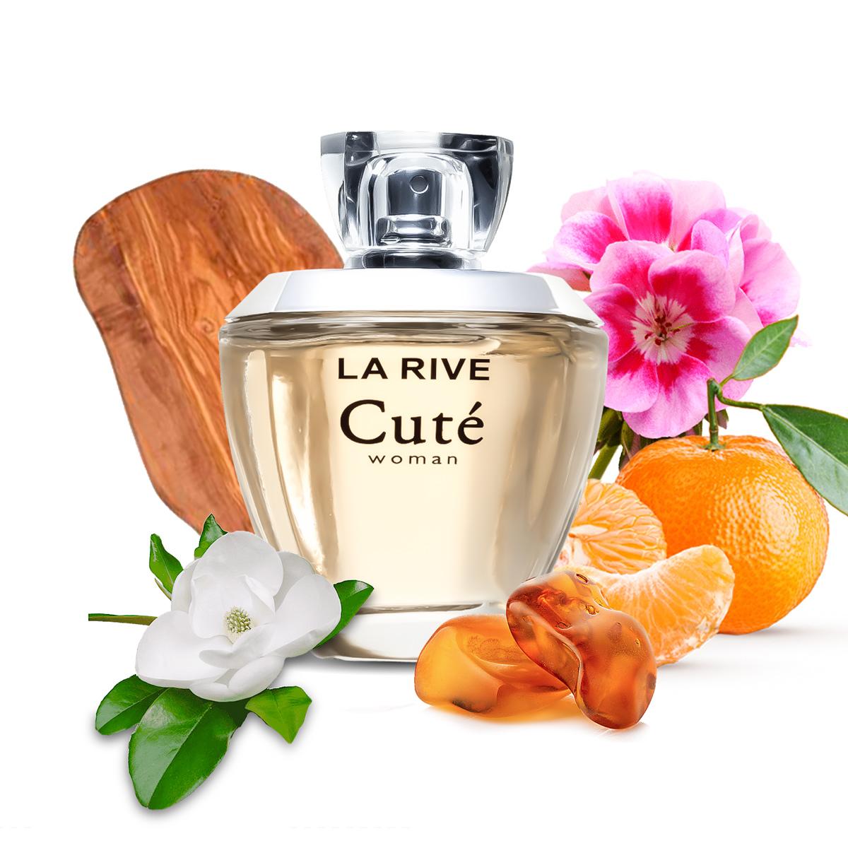 Kit 2 Perfumes Cute La Rive 100ml Feminino Edp
