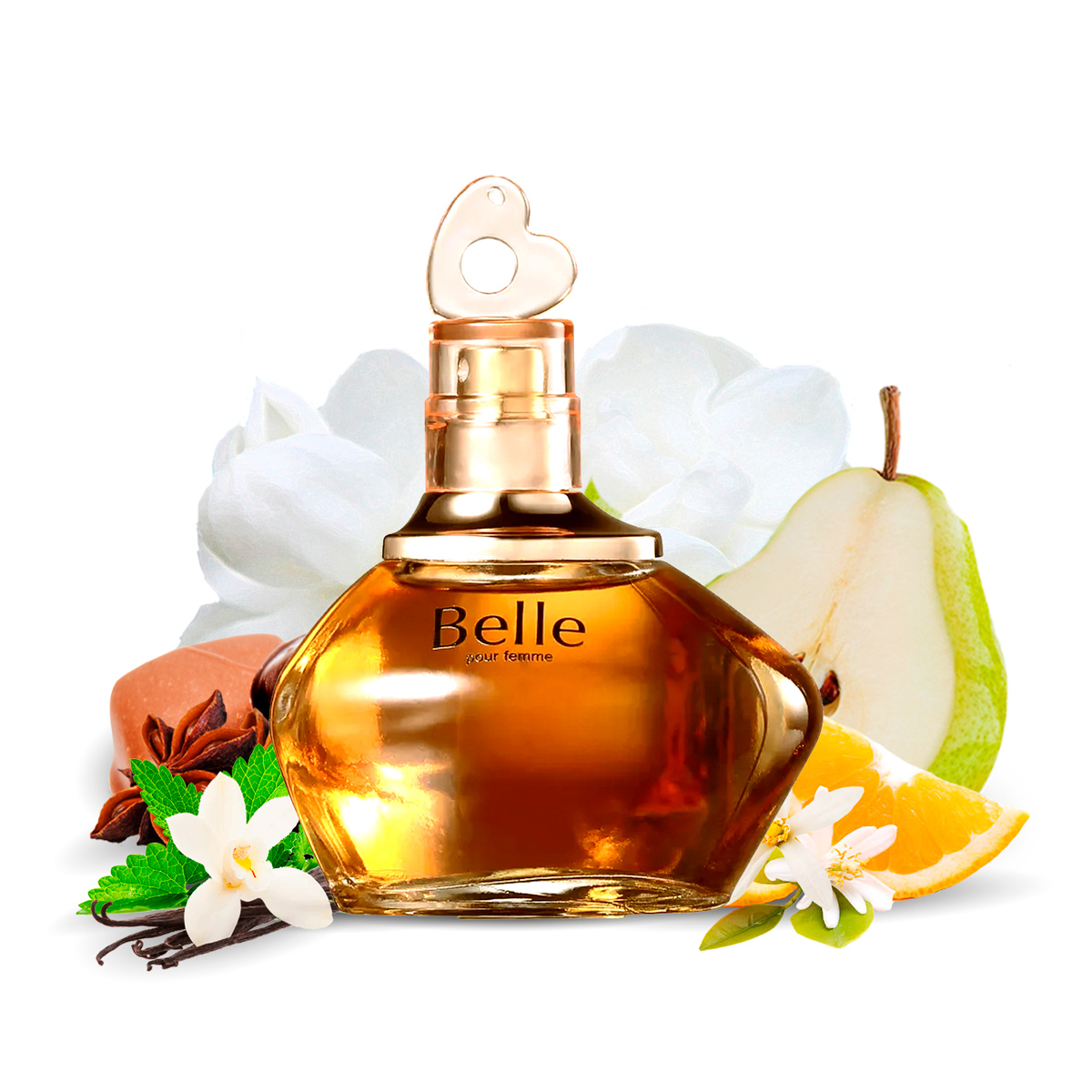 Kit 2 Perfumes Importados Belle e Silver Spirit I Scents
