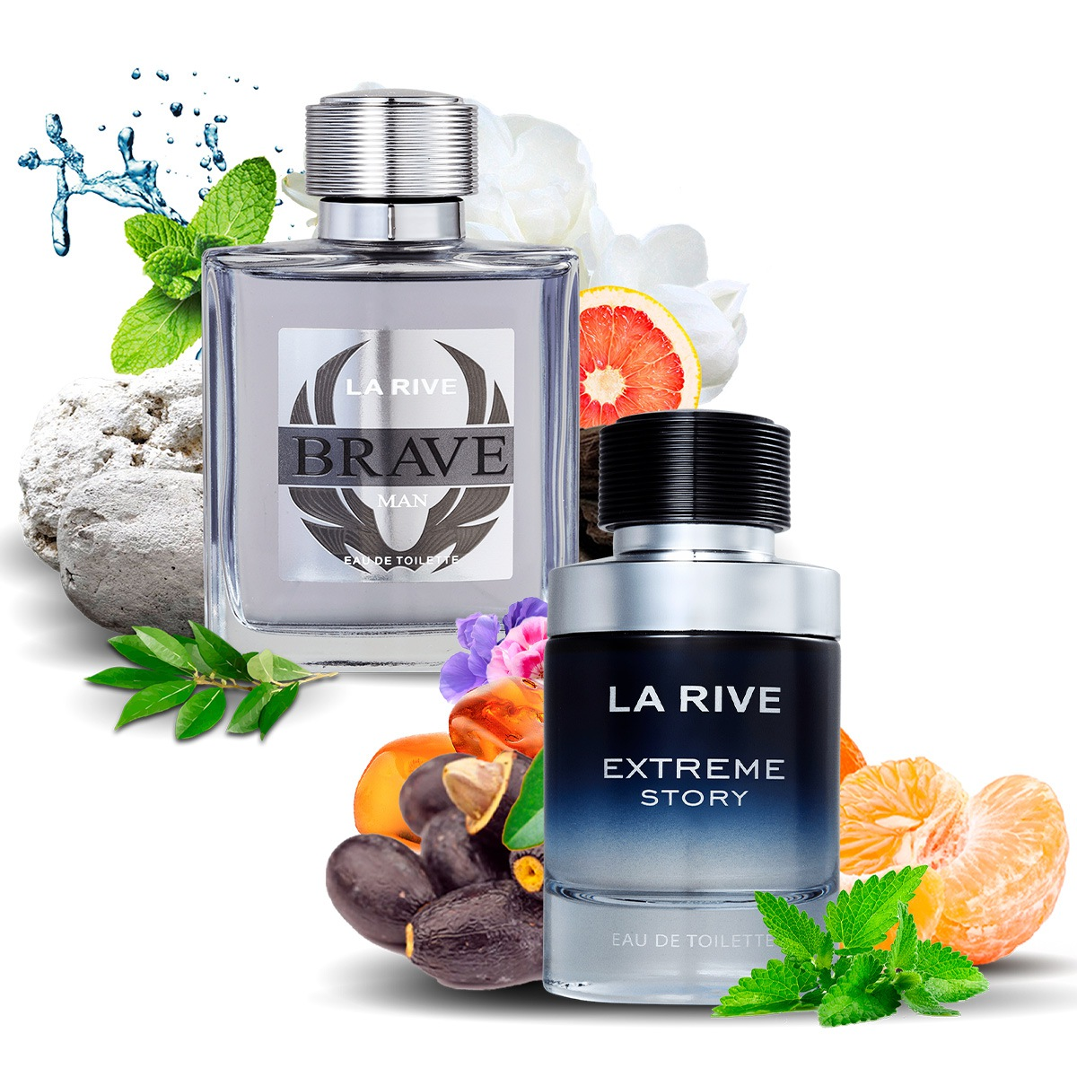 Kit 2 Perfumes Importados Brave e Extreme Masculino La Rive  - Mercari Perfumes