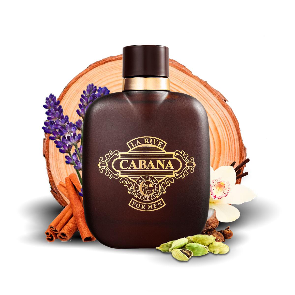 Kit 2 Perfumes Importados Cabana e Eternal Kiss La Rive