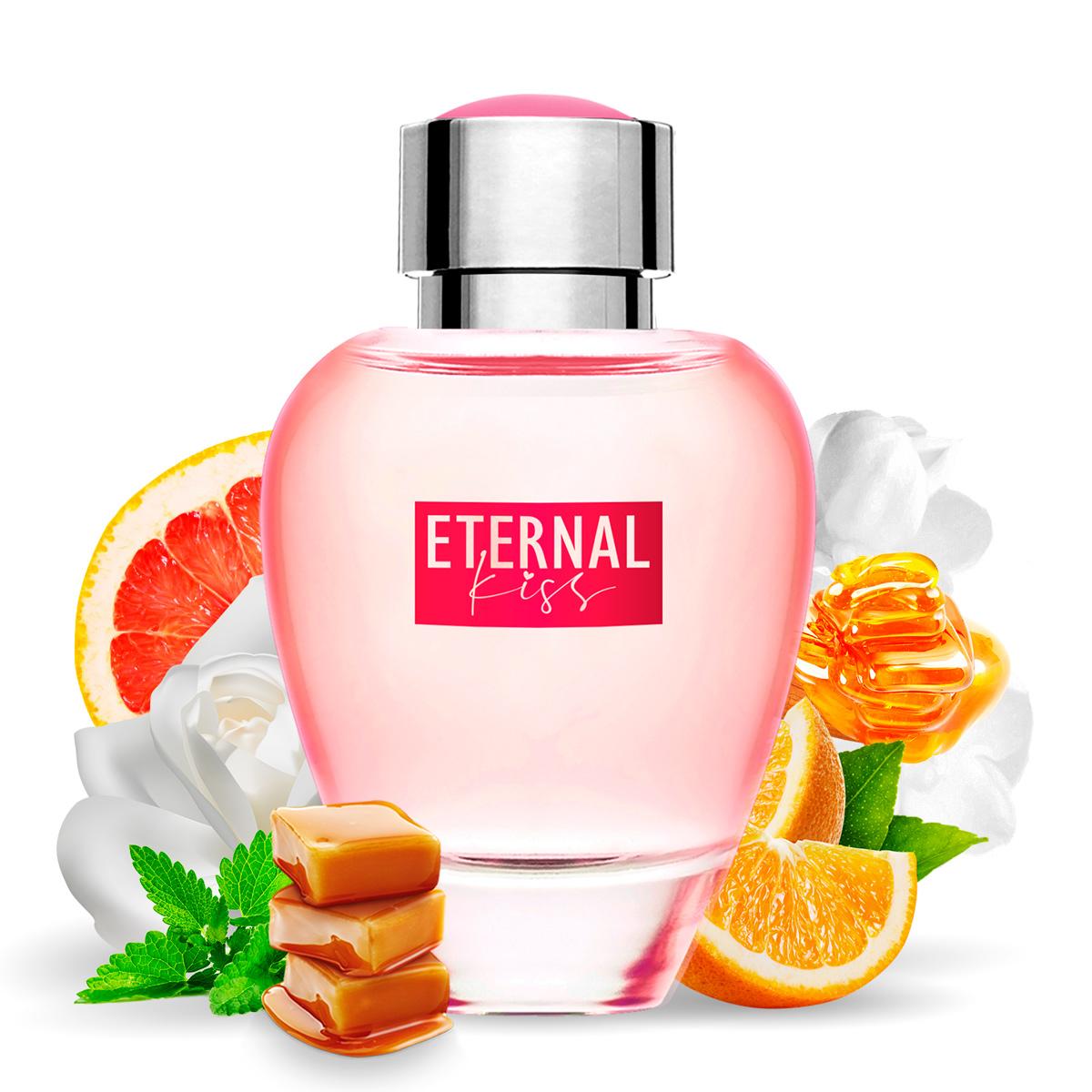 Kit 2 Perfumes Importados Cash Man e Eternal Kiss La Rive