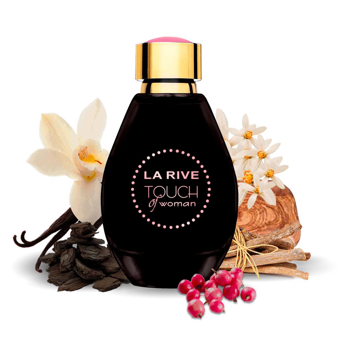Kit 2 Perfumes Importados Cash Man e Touch of Woman La Rive