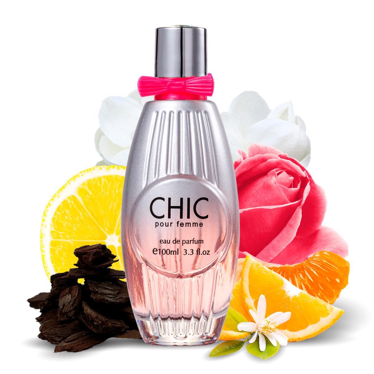 Kit 2 Perfumes Importados Chic e Silver Spirit I Scents