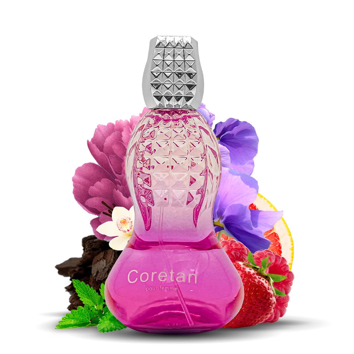 Kit 2 Perfumes Importados Coretan e Silver Spirit I Scents