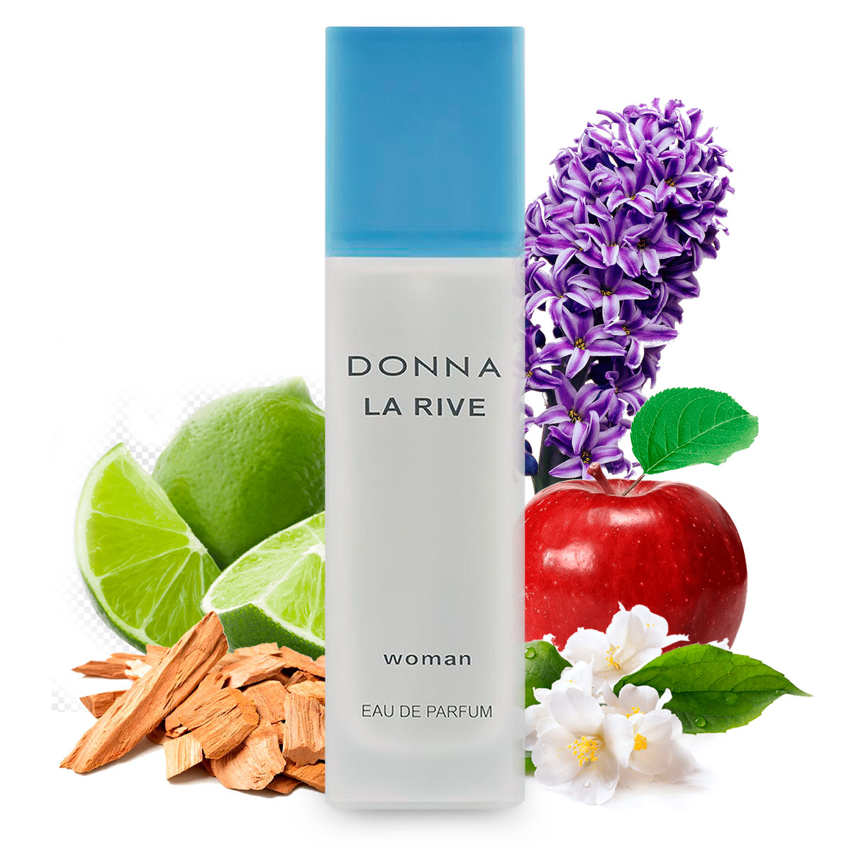 Kit 2 Perfumes Importados Donna e Brave La Rive