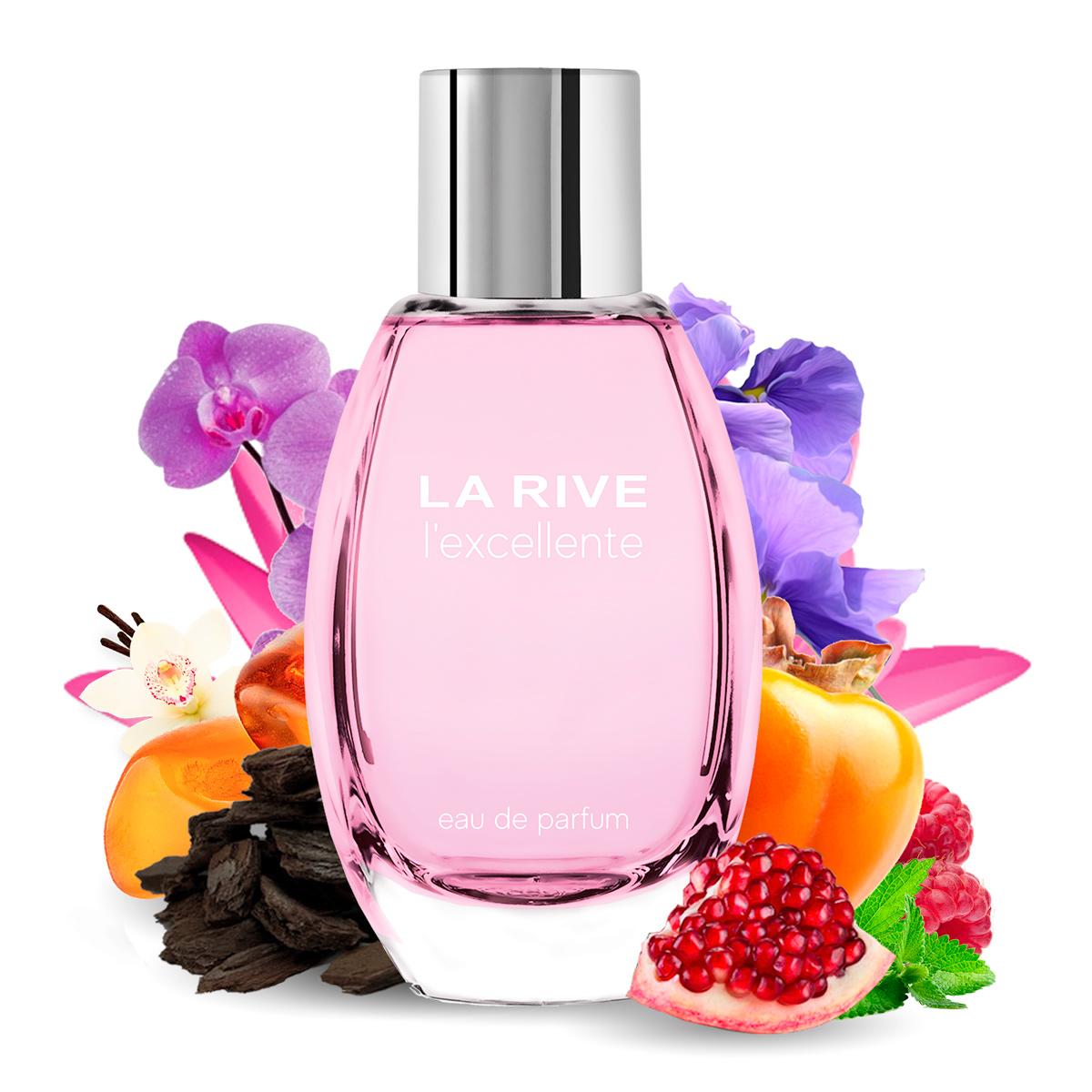 Kit 2 Perfumes Importados Donna e L'excellente La Rive