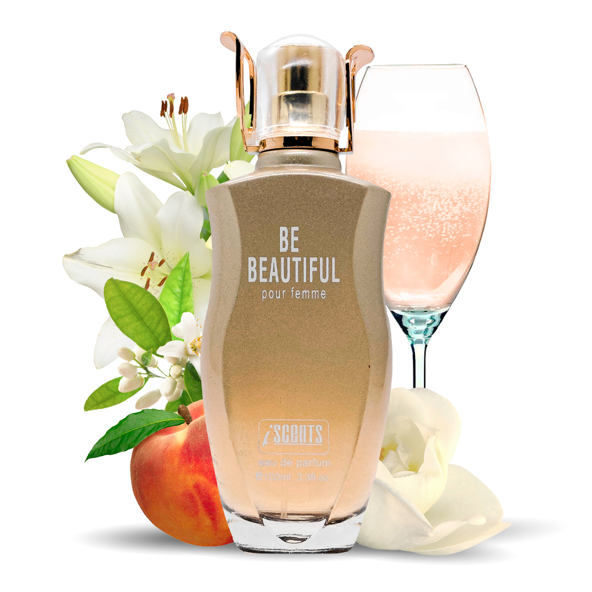 Kit 2 Perfumes Importados Ebon e Be Beautiful I Scents